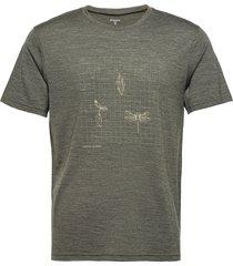 m's activist message tee t-shirts short-sleeved grön houdini