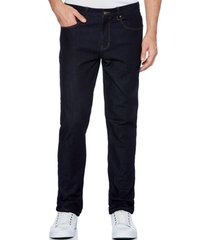 jeans casual liso navy perry ellis
