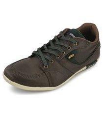 sapatênis strikwear st18-237/32370 verde