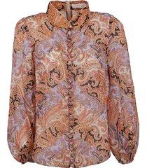 zimmermann botanica chevron blouse