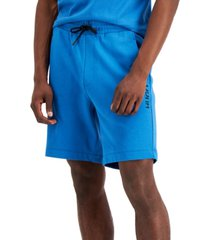 "hugo hugo boss men's doshi regular-fit logo-print 12"" drawstring shorts, created for macy's"
