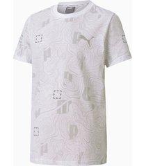 active sports t-shirt, wit, maat 104 | puma