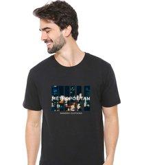 camiseta sandro clothing movement preto - preto - masculino - dafiti