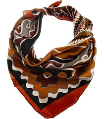 pañuelo marrón bohemia estampado