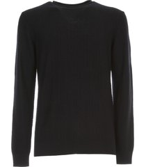 giorgio armani sweater crew neck chevron