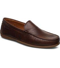 plain driving loafer lth loafers låga skor brun marstrand