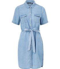 jeansklänning vmsilja ss short shirt dress