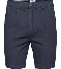 hector orleans check shorts shorts chinos shorts blå kronstadt