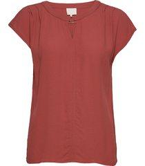 ariana top blouses short-sleeved röd minus