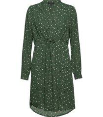 slfspilla-damina ls dress ex jurk knielengte groen selected femme