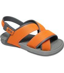 sandalia naranja f