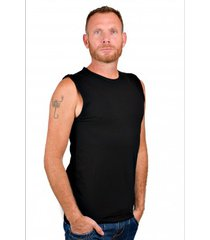 rj bodywear men t-shirt sleeveless black