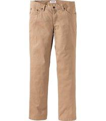 pantaloni elasticizzati con taglio confortevole (marrone) - john baner jeanswear