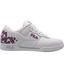 zapato fila original fitness floral mujer