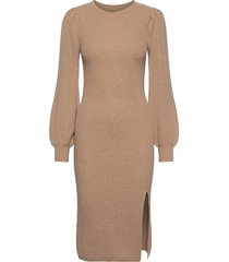 anf womens dresses jurk knielengte bruin abercrombie & fitch