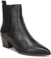 franco sarto sager booties women's shoes