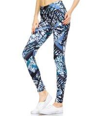 mono b women's printed leggings