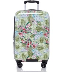 """guess fashion travel dupree 20"""" carry-on hardside luggage"""