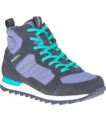 zapatilla alpine sneaker mid uva merrell