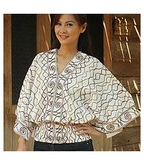 cotton blouse, 'northern pride' (thailand)