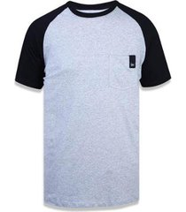 camiseta branded cinza new era masculina
