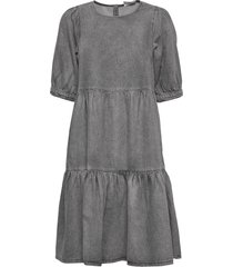 sammigz dress ms20 jurk knielengte grijs gestuz
