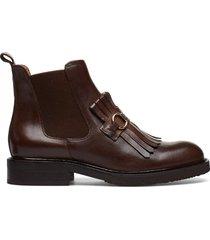 boots 7426 shoes boots ankle boots ankle boots flat heel brun billi bi