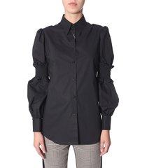 mm6 maison margiela shirt with elastic