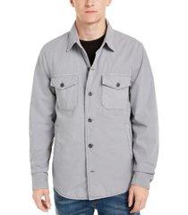 lucky brand men's lined shirt-jacket