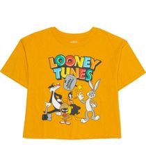 hybrid juniors' cotton looney tunes graphic t-shirt
