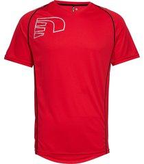 core coolskin tee t-shirts short-sleeved röd newline