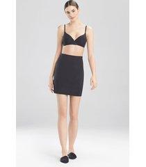 natori affair half slip bodysuit, women's, black, size l natori