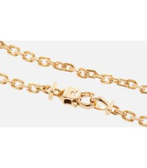 tom wood men's anker bracelet - gold - m/7.7 inches