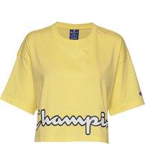 crewneck t-shirt crop tops gul champion