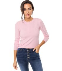 sweater rosa nano agatha