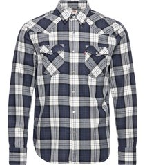barstow western standard arche skjorta casual blå levi´s men