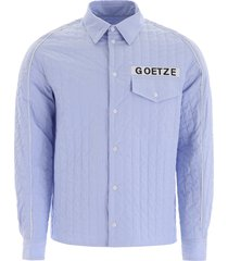 goetze quilted vince shirt