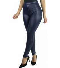 calça cirre mvb modas disco hot pants azul
