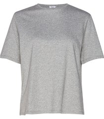 annie cotton t-shirt t-shirts & tops short-sleeved grå filippa k