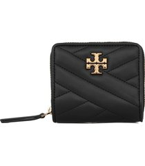 tory burch kira chevron bi-fold wallet