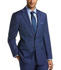 lauren by ralph lauren blue plaid classic fit suit