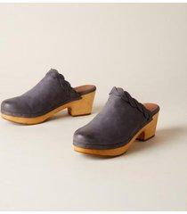 sundance catalog women's mille braid clogs sandals in jeans 9.5