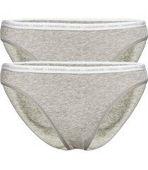 bikini 2pk trosa brief tanga grå calvin klein