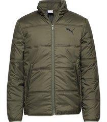 essentials padded jacket fodrad jacka grön puma
