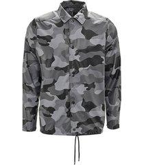 blazer rains aop coach jacket