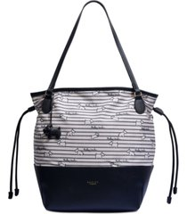 radley london large open top tote