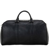 "in less distress 20"" faux leather carry-on duffel bag"
