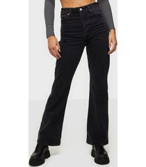 levis ribcage boot black bayou bootcut & flare