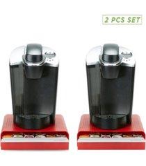 mind reader 2 pack k-cup single serve coffee pod storage