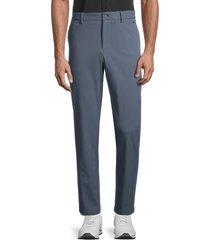 j. lindeberg men's axil stretch twill pants - dark grey - size 30 30